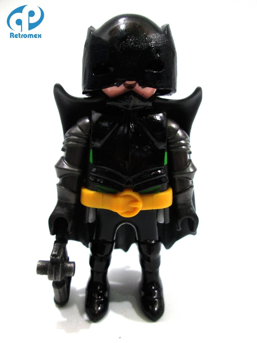 Playmobil custom batman vampiro bruno diaz comic retromex - Batman playmobil ...
