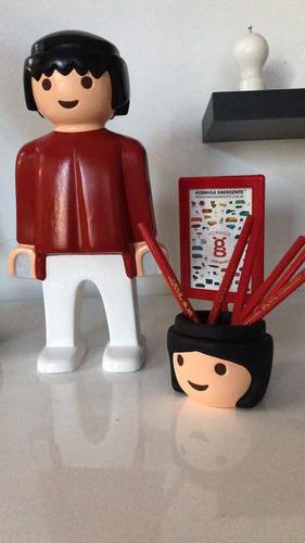 playmobil de cerámica hormiga emergente
