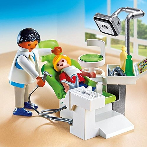 playmobil dentista con paciente playset- envío gratis