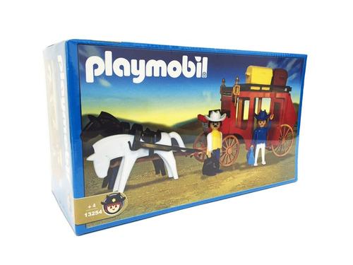 playmobil diligencia con muñecos y accesorios antex