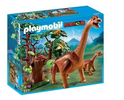 Playmobil dinosaurios braquiosaurius con beb 5231 for Playmobil dinosaurios