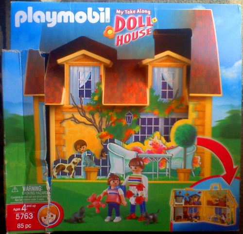 playmobil doll house 5763
