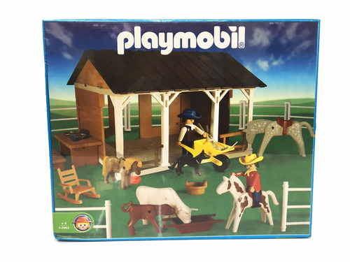 playmobil establo 13963 original antex