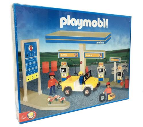 playmobil estacion de servicio 3437 original antex