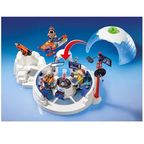 playmobil - expedição ártica - central de expedição polar -
