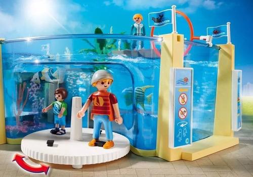 playmobil family fun grande aquário sunny