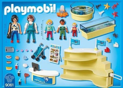 playmobil family fun shopping do aquário 9061