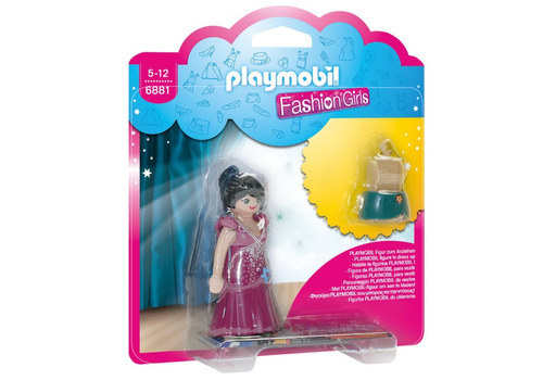 playmobil fashion figuras a la moda modelos surtidos (6415)