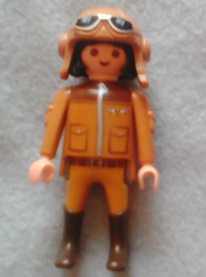 23f4b785dd Playmobil Figura Aviador - $ 69.00 en Mercado Libre