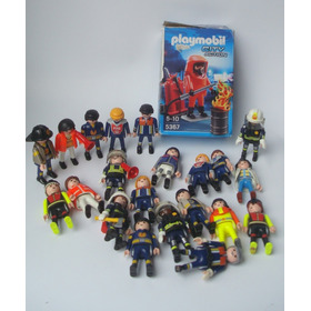 Playmobil Figura Bomberos Rescate City Action Original Perco