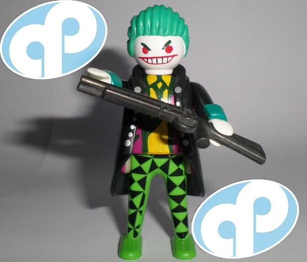 Playmobil guason custom the joker batman villano retromex - Batman playmobil ...