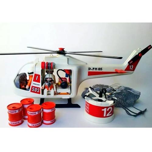 playmobil helicoptero salvataje 3789 full