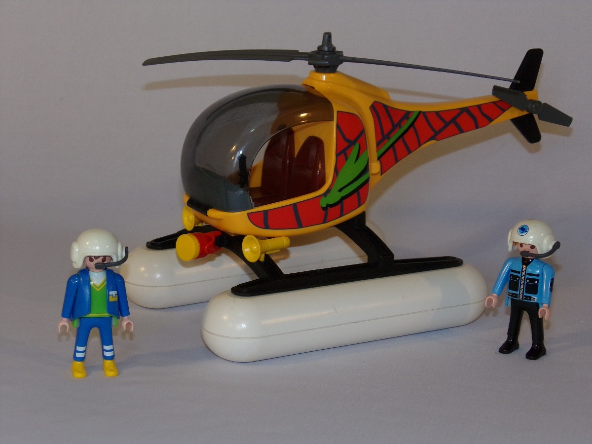 Playmobil hidro helic ptero hovercraft r 149 99 em for Helicoptero playmobil