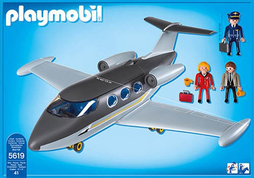 playmobil jet privado 5619 ¡¡¡envío gratis!!!