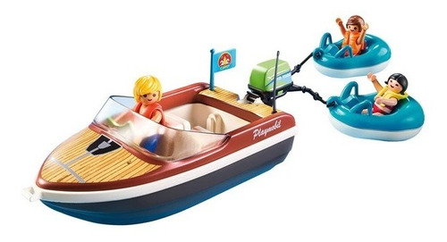playmobil lancha con flotadores 70091 family fun edu