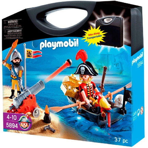 playmobil maleta piratas 5894