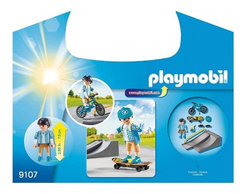 playmobil maletin de deportes extremos sport action 9107 edu