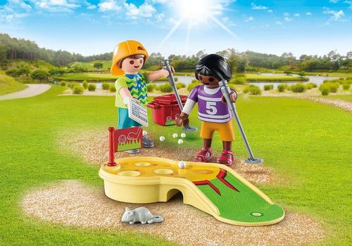 playmobil minigolf 9439 original figuras accesorios educando