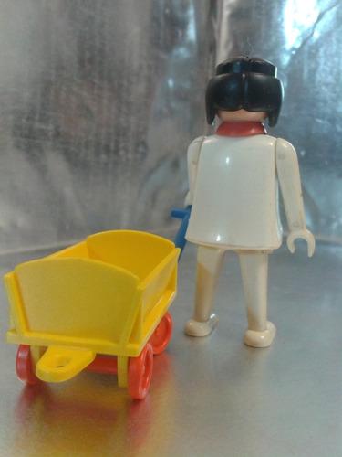 playmobil - muñeca  de 1974 geobra 1