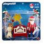 Playmobil El Pequeño Angel Con Papa Noel