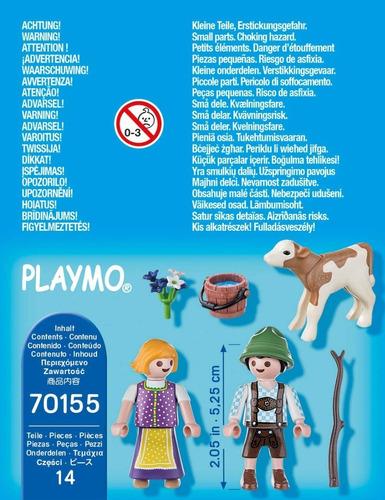 playmobil niños con ternero 70155 special plus ink educando