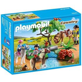 Playmobil Paseo De Ponis En El Campo Línea Country 6947