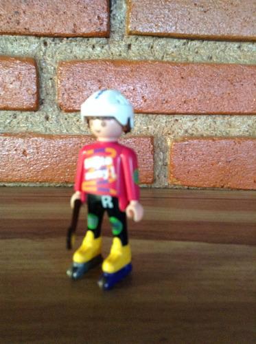 playmobil patinador de ciudad