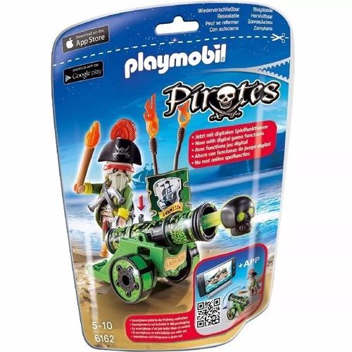 playmobil pirata con cañon verde 6162 intek