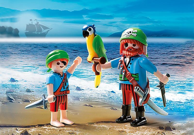 playmobil piratas pirata verde - r$ 18,90 em mercado livre