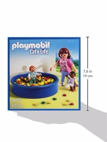 playmobil piscina pelotero 5572 guarderia figuras educando