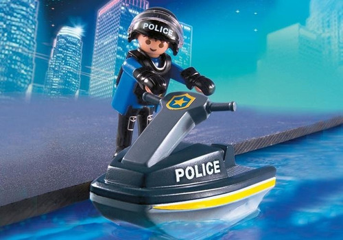 playmobil police tactical unit set unidad tactica