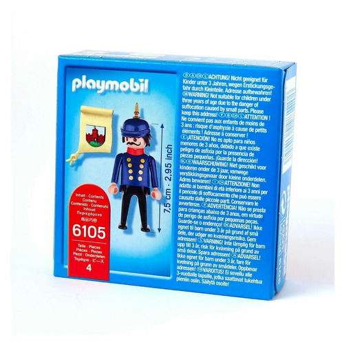 playmobil policial victoriano raro 6105