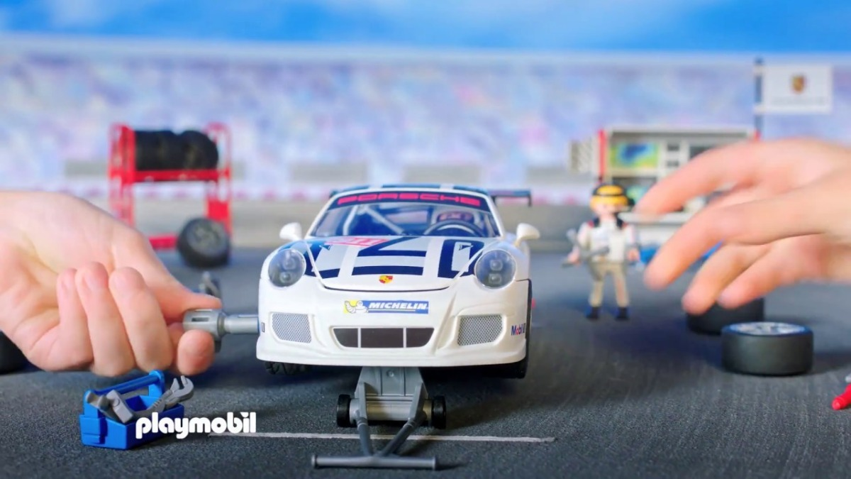 playmobil porsche 911 gt3 cup 1 en mercado libre. Black Bedroom Furniture Sets. Home Design Ideas
