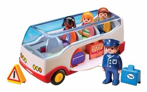 playmobil primero pasos 123 colectivo autobus pasajeros tv