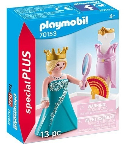 playmobil princesa con maniqui 70153 special plus ink edu