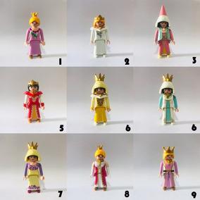 Playmobil Princesas Reinas Mujeres Nenas Mediavales Realeza