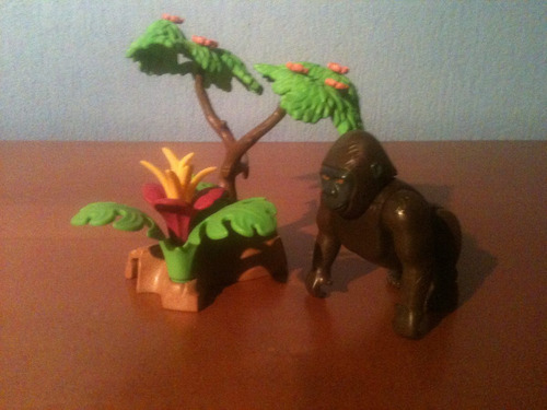 playmobil set de gorila, referencia 3039