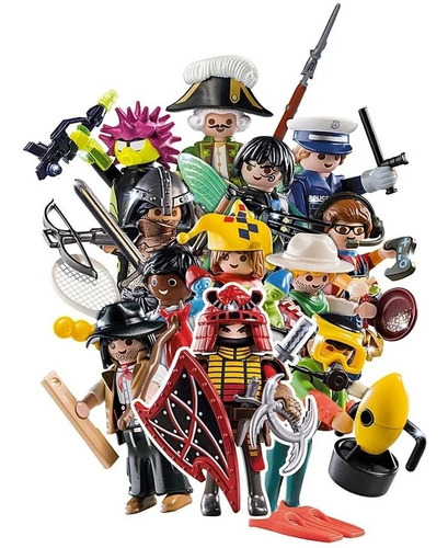 playmobil sobre figures serie 17 boys 70242 intek