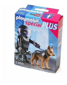 nuevo Preiser 14008 h0 policías perro policía perro 6 figuras