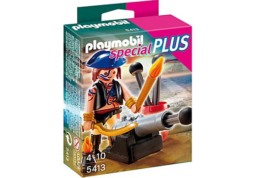 playmobil special plus 5413 pirata cañon sellado nuevo