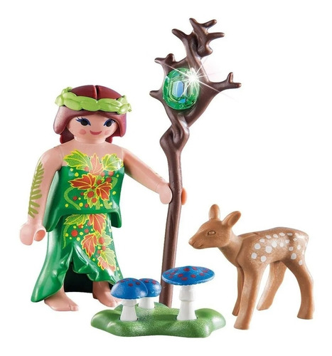playmobil special plus 70059 hada con ciervo original intek