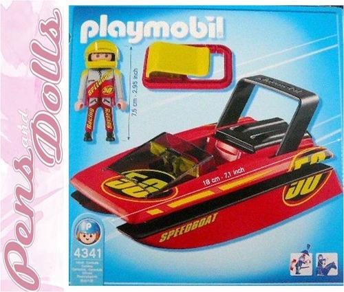 playmobil speed boat 192 - 4341