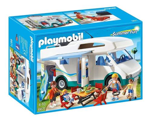 playmobil summer fun 6671 caravana de verano