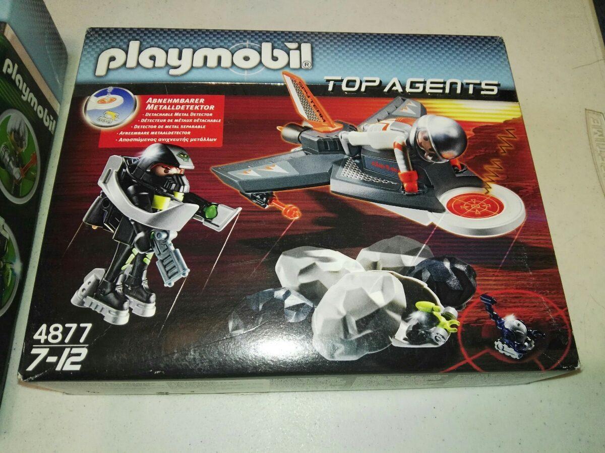 playmobil top agentes set de 2 juegos   105000 en