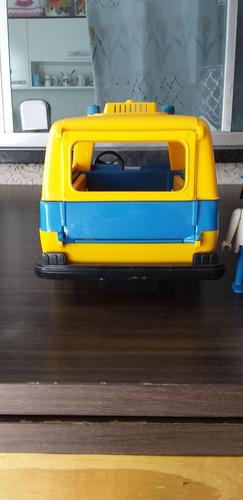 playmobil trol furgão lufthansa
