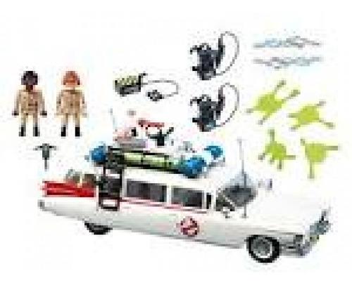 playmobil veiculo caca fantasmas ecto-1