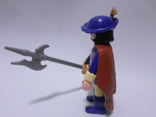 playmobil vintage cortesano medieval marca geobra del 2006