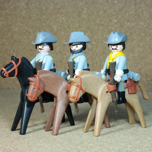 playmobil  western lejano oeste soldados lote para elegir nv