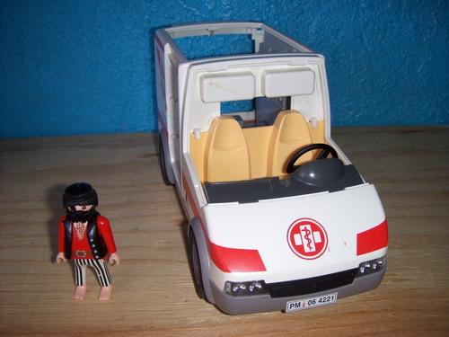 playmobile ambulancia lote he-man star wars mask thundercats