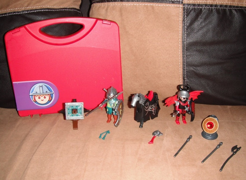 playmobile lote figuras caballeros star wars mask he-man dc